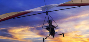 Microlight & PoweredHang Gliding